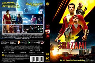 Shazam - Cover - DVD