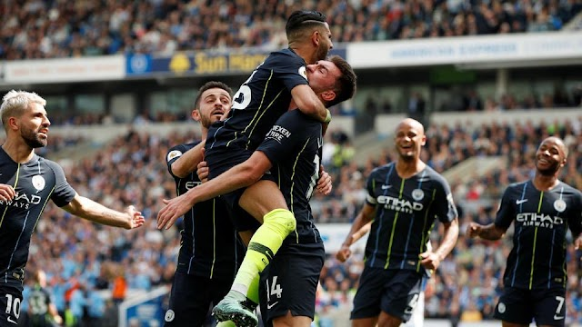 Breaking News: Manchester City Win 2018/2019 EPL Title After Smashing Brighton 4:1