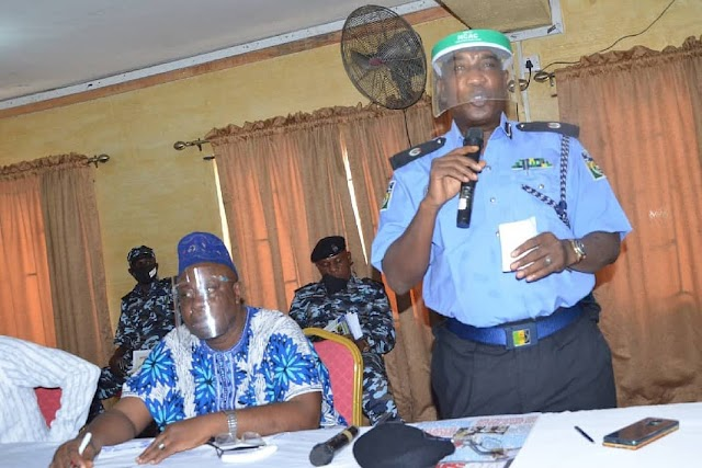 BAMIGBOYE, ACP DANKOLI, INAUGURATES POLICE ADVISORY COMMITTEE IN MUSHIN