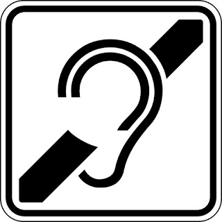 Icon for hard of hearing