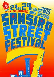San Siro Street Festival 21-22-23-24 Luglio Milano