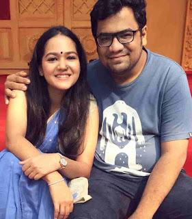 Ayesha Kaduskar With Her Brother