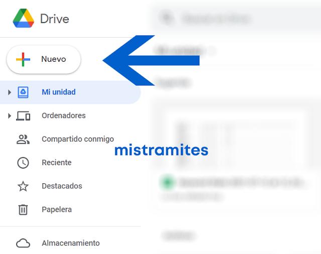 subir un archivo a google drive en una carpeta compartida