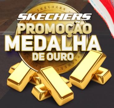Medalha de Ouro Skechers Promoção 2021