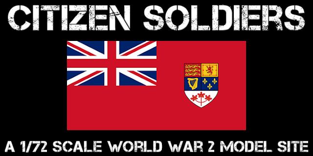 Citizen Soldiers: A 1/72 World War 2 Model Site