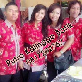Seragam batik solo kalinggo batik