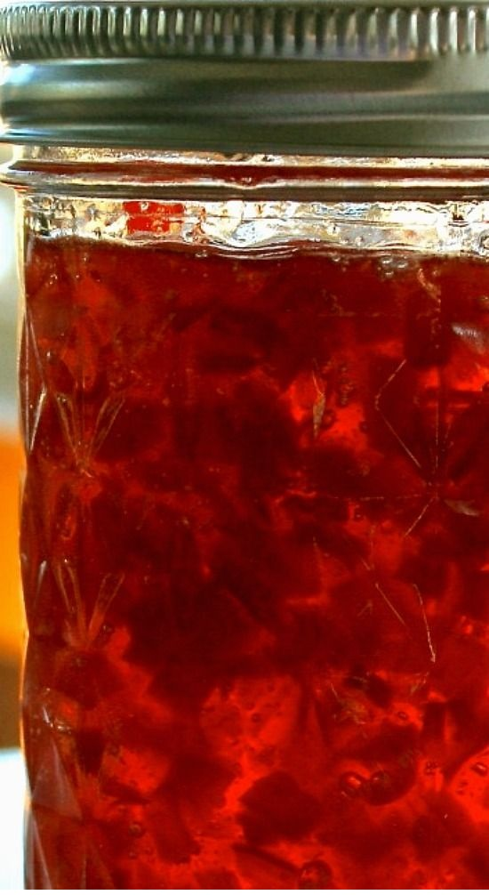 Cranberry Jalapeño & Sweet Red Pepper Jelly