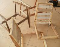 renowacja fotela lisek krok po kroku
