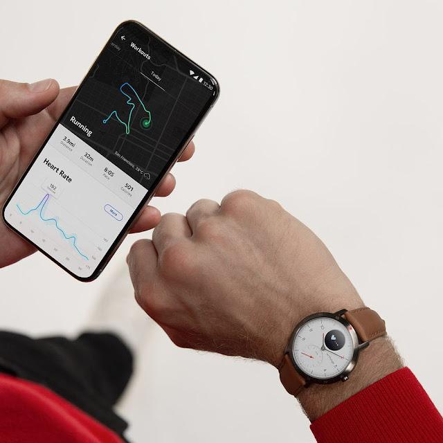 Hướng dẫn kết nối đồng hồ Withings Steel HR Sport với app trên điện thoại