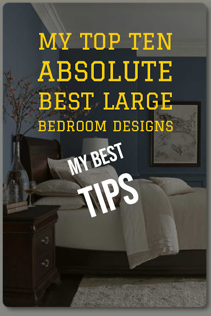 Best large bedroom designs and ideas