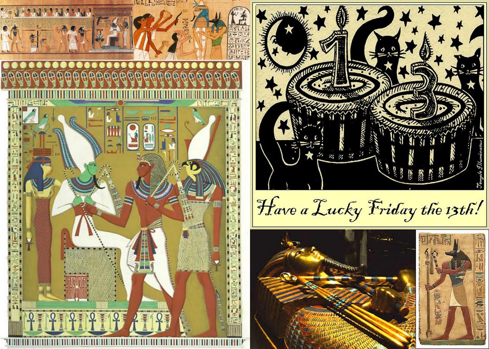 I should be writing: Friday the 13th and ancient Egypt