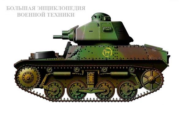 Легкий танк Auto-mitrailleuse de combat AMC 34YR