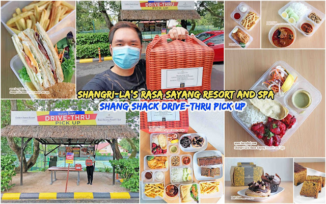 Shang Shack Drive-thru Pick Up by Shangri-La's Rasa Sayang Resort & Spa