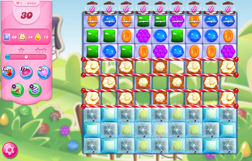 Candy Crush Saga level 6483