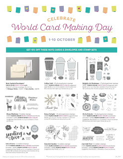 Hello, once again there is a lot going on in the world of Stampin' Up! so I thought I would put all the details in one place so that you don't miss anything