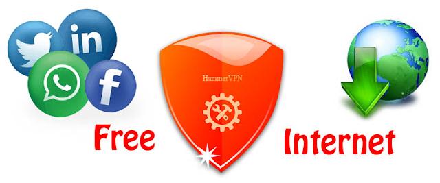 Nuevo Hammer VPN para tener internet gratis ilimitado en Claro Chile