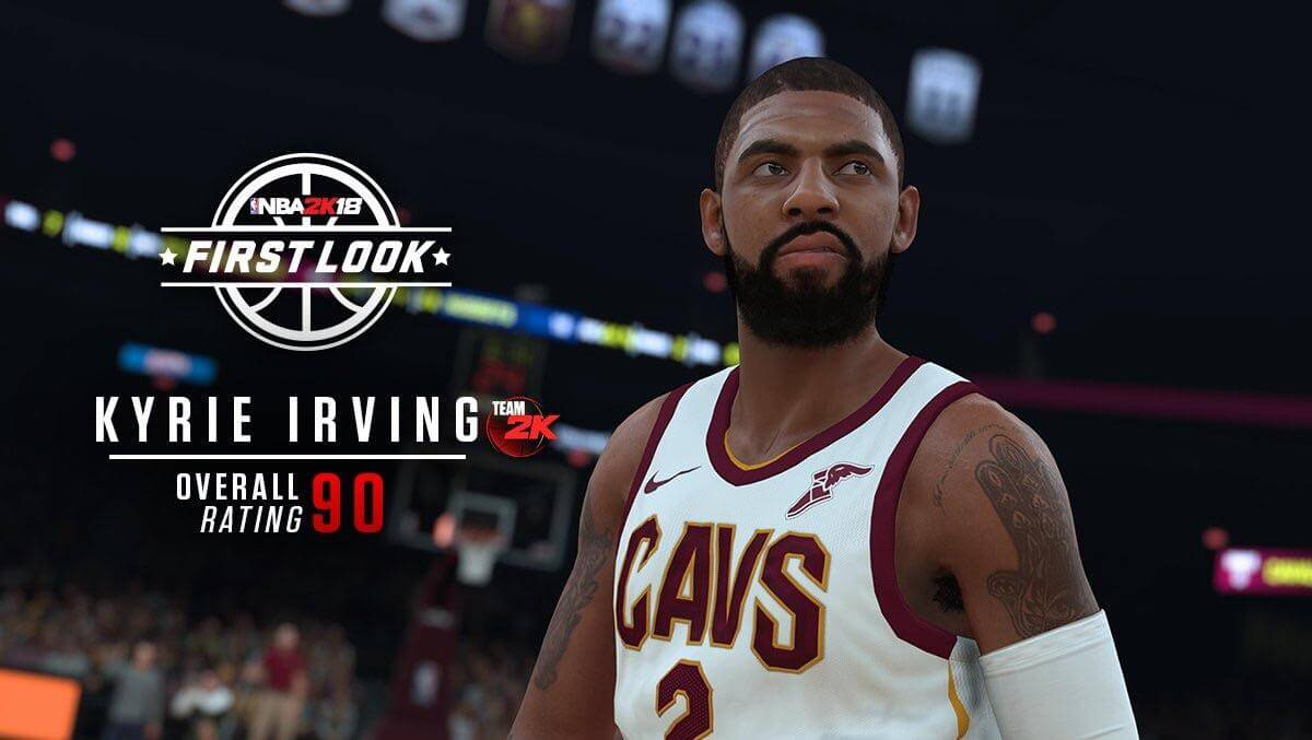 NBA 2K18 Kyrie Irving Screenshot