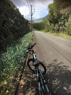 八丈富士への道