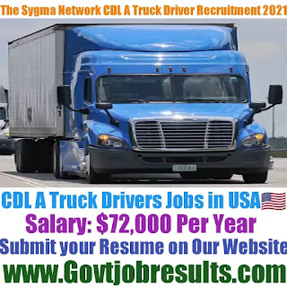 The Sygma Network CDL A Truck Driver Recruitment 2021-22