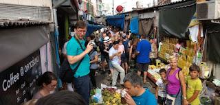 Tailandia, Mae Klong Market o el Mercado del Tren o Train Market.