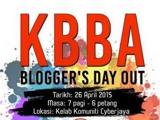 Bloggers Day Out Kelab Blogger Ben Ashaari di Kelab Komuniti Taman Tasik Cyberjaya