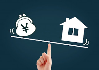 アパートローンイメージ、お金お金と家
