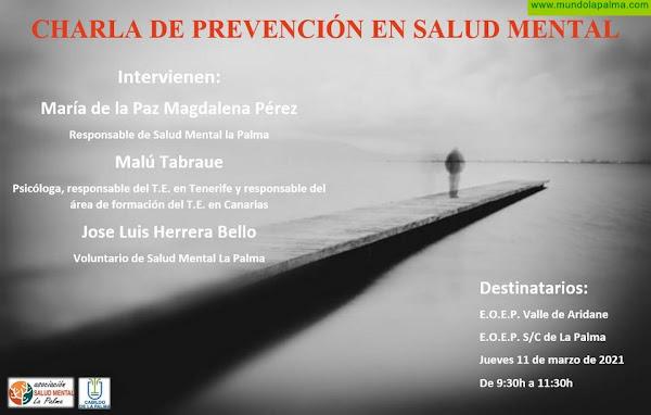 Salud Mental La Palma continua con su labor informativa y educativa