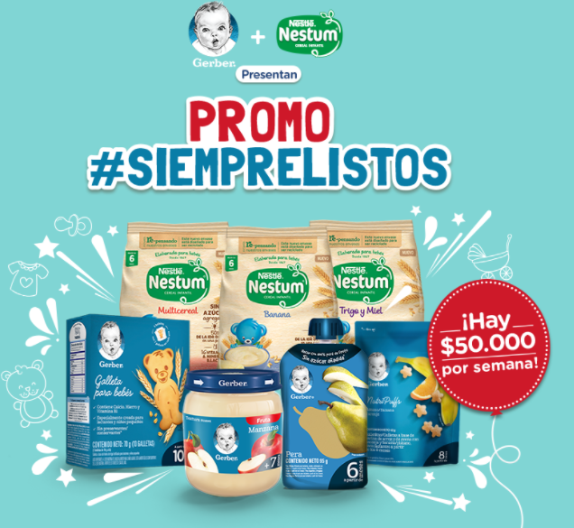 Promo Nestlé Siempre Listos