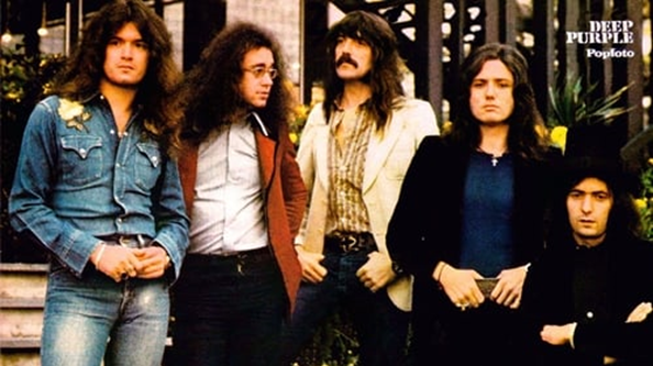 Deep Purple circa 1974.