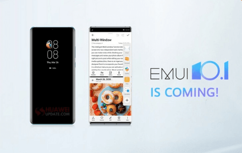 List of global Huawei devices that will get EMUI 10.1