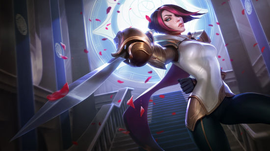 Fiora - League of Legends - Quad HD 1440p