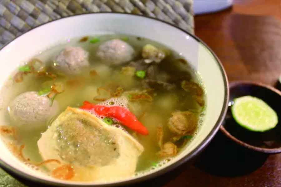 Bapatong makanan khas Bogor yang melegendaris