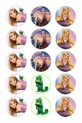 free rapunzel party printables