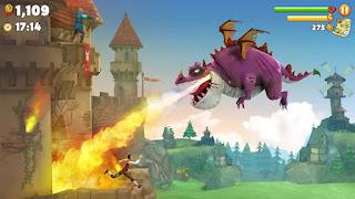 Controle dragões ferozes que voam
