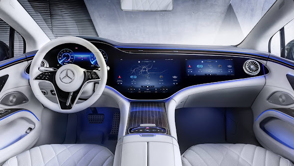 Mercedes-Benz EQS: o Classe S elétrico tem o interior revelado