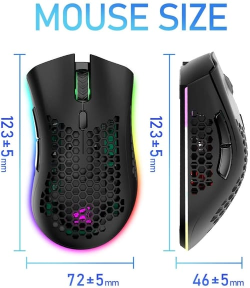 Review FELICON Wireless Lightweight Gaming Mouse