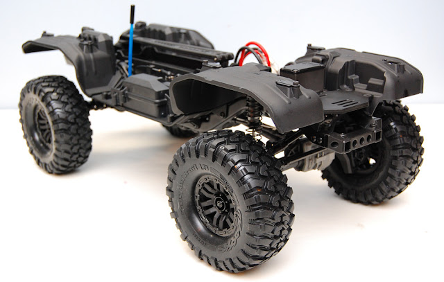 Traxxas TRX-4 assembled chassis