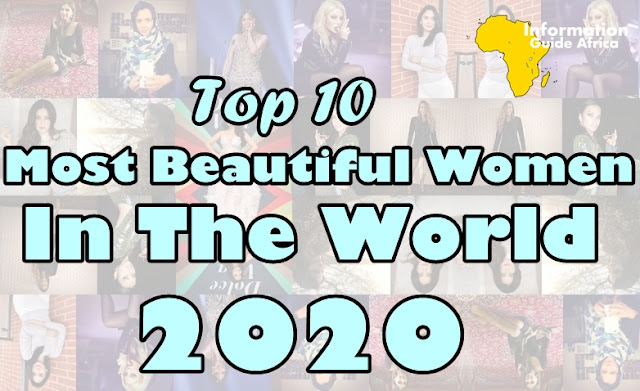 Top 10 Most Beautiful Women In The World In 2020