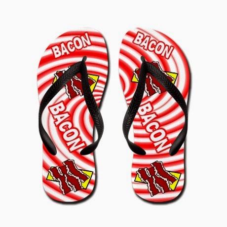 041198b0dab0e Adventures In Bacon: Bacon Flip Flops (Bacon and Cream Chees Stiffed ...