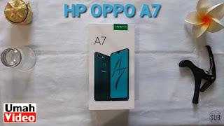 HP Oppo A7 RAM 4 GB dan ROM 64 GB