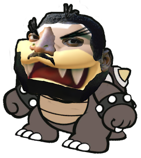 Morton Koopa Jr. Martin Luther King face morph