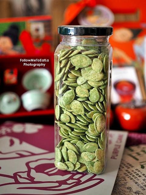 1 can Green Tea Pumpkin Seeds (200g)