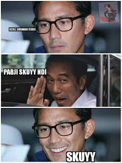 Meme Sandiaga Salahudin Uno Sedih Gagal jadi Cawapres di Pilpres 2019 - PAPJI SKUYY- DI AJAK MABAR PUBG