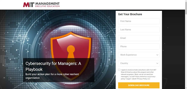 Cybersecurity for Managers: A Playbook