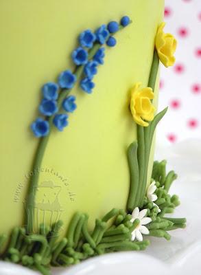 Blumen Ostertorte