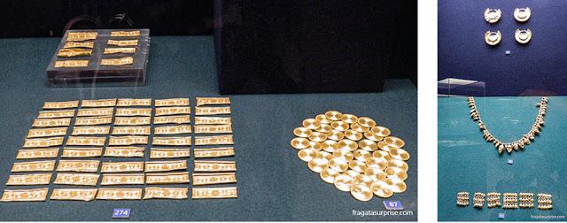 Joias da Idade do Ferro encontradas em território português e expostas no