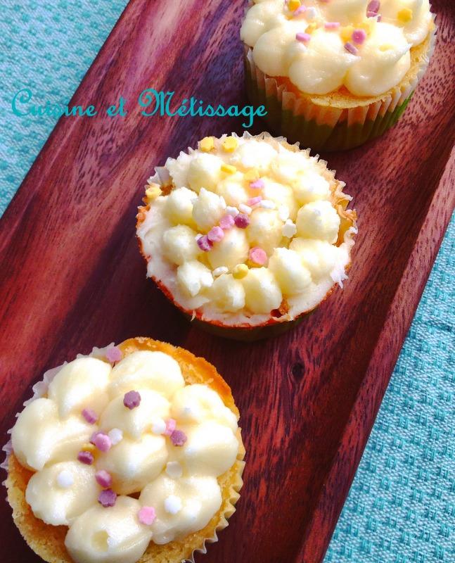 cupcakes vergeoise vanille