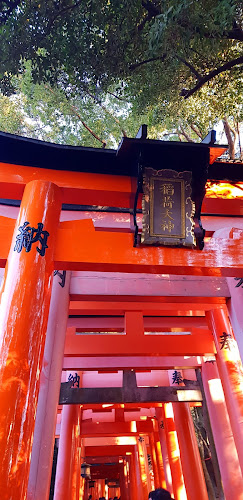 Enjoy Fushimi Inari Shrine on your bike trip