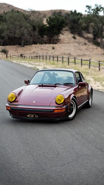 Porsche 911 SC, Red Sports Car
