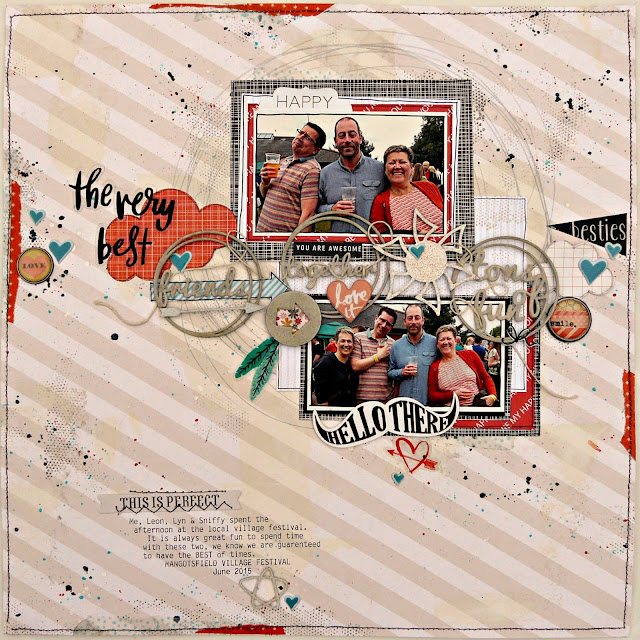 The Very Best scrapbook layout tracee provis 2crafty chipboard nov 2015